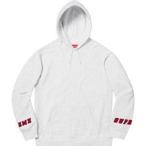 SUPREME Wrist Logo Hooded Sweatshirt